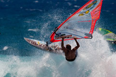 Hawaii windsurfing course