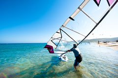 Prasonisi, Greece windsurfing course