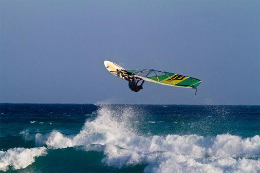 Barbados Windsurfing
